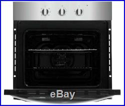 Bush BIBFOSA Built In Single Electric Oven Silver