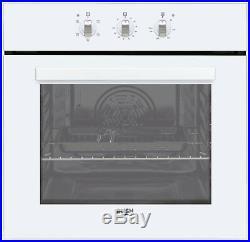 Bush BIBFOW Single Built-in Electric Oven White