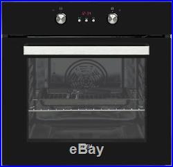 Bush BIBMOB Built-In 59.5cm Single Electric Oven Black