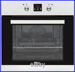 Bush BIBMOS Built-In 59.5cm Single Electric Oven Stainless Steel