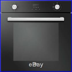 Bush RLBFO Single Built In Electric Oven Black