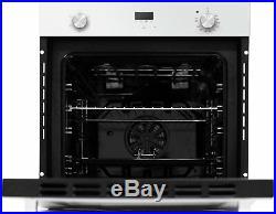 Bush RLWFO Built In Single Electric Oven White