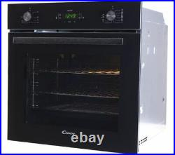 CANDY FCT615N WIFI Built-in Electric Steam Smart Single Oven Black Currys
