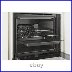 Candy 70L Electric Single Oven with Pyrolytic Cleaning Stainless Steel