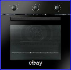 Candy FCP602N/E Built In Single Electric Oven Black