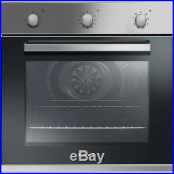 Candy FCP602X Built In 60cm A+ Electric Single Oven Stainless Steel New