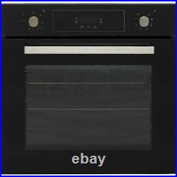 Candy FCP615NX/E Built In 60cm A+ Electric Single Oven Black New