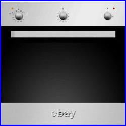Candy OVG505/3X LPG Single Built In Gas Oven Stainless Steel