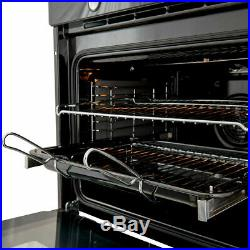 Cooke & Lewis Electric Oven Built-in Single Multifunction CLMFBLa Black