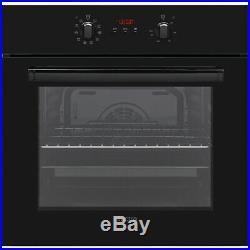 Electra BIM65B Built In 60cm A Electric Single Oven Black New