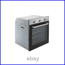 ElectriQ 73L Plug In Electric Fan Assisted Single Oven Stainless Steel