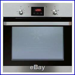 Ex Display Matrix MS200SS Built-in Electric Single Oven Stainless Steel