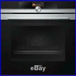 Ex Display Siemens HB676GBS1B Multifunction Electric Built-in Single Oven Stainl