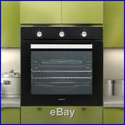 Extra Large Capacity 73 litre Built-in Fan-Assisted Single Oven with plug