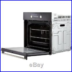 Hisense BI3221AXUK Built In 60cm A Electric Single Oven Stainless Steel New