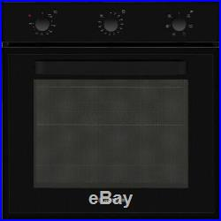 Hoover HOT1151B/E Built In 60cm A Electric Single Oven Black New
