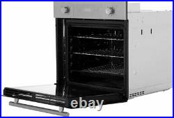 Hoover HPKGAS60X/E Built In 65L Single Oven and 4 Burner Gas Hob Pack