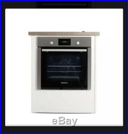 Hoover Single Built In Electric Oven HOC709 Silver 13amp Plug Easy Clean Steam