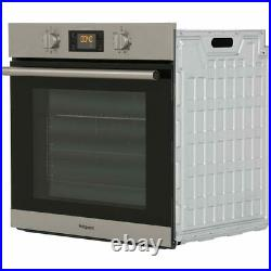 Hotpoint Class 2 SA2844HIX Built In Electric Single Oven Stainless Steel A+