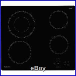 Hotpoint K002930 Single Oven & Ceramic Hob Built In Stainless Steel