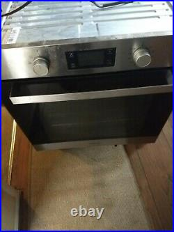 Hotpoint SA3540HIX Built-in Single Electric Oven Stainless Steel (kitchen, cook)