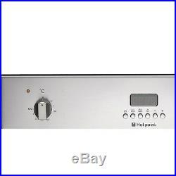 Hotpoint SHL532XS Side-opening Electric Built-in Single Fan Oven Stai SHL532XS