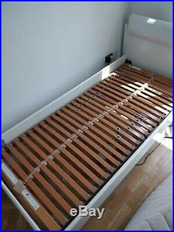 Hülsta Single Bed With Built In Lamp And Electric Motion Mattress And Remote
