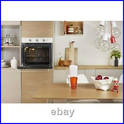 Indesit IFW6230WHUK Four Function Electric Built-in Single Oven Wh IFW6230WHUK