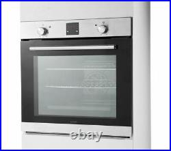 LOGIK LBLFANX17 Electric Oven Built-in Single Oven Inox & Black Currys