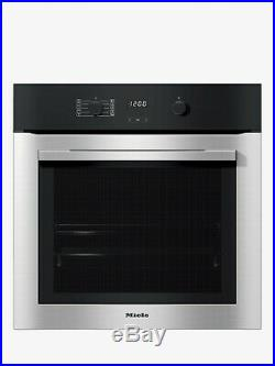 Miele ContourLine H2760BP Built In Electric Single Oven Clean Steel HA3479