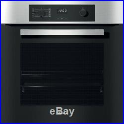 Miele H2265-1B Built In 60cm Electric Single Oven Clean Steel New