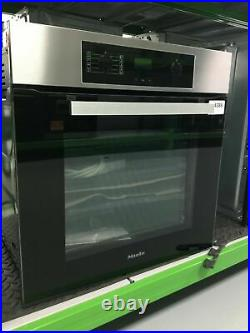 Miele H2265-1B Built In Electric Single Oven Clean Steel A+ Rated #264386
