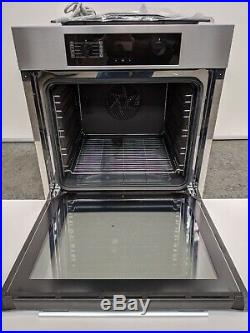 Miele H2265-1B Built-In Single Electric Oven, A+ Energy Rating, Clean Steel