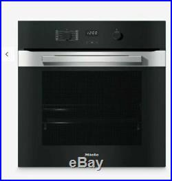 Miele H2860 B Design Multifunction Built-in Single Oven Clean Steel