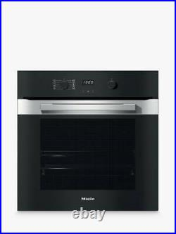 Miele H2860B Built-In Single Electric Oven, A+ Energy Rating, Clean Steel