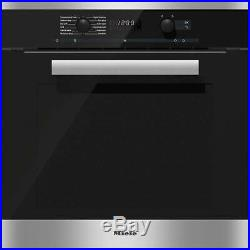 Miele H6167BP Built-in Single oven electric Clean stainless steel