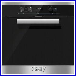 Miele H6260BPCLST Built in Pyrolytic Single Electric Oven in Clean Steel FB0008