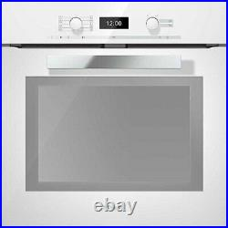 Miele H6460BPBRWS Built in Single Electric Oven in White FB0016