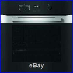 Miele PureLine H2860B CleanSteel Single Built In Electric Oven