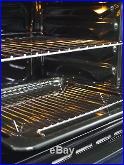 MyAppliances REF28734 60cm Built In Single True Fan Electric Oven Black Glass