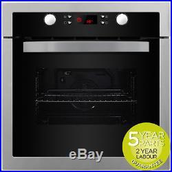 MyAppliances REF28738 60cm Built in S/Steel Deluxe Single Electric True Fan Oven