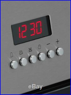 MyAppliances REF28744 60cm Built-in Single Electric Fan Oven Stainless Steel