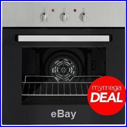 MyAppliances REF28759 60cm Built-in Single Electric Fan Oven Stainless Steel
