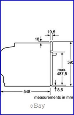 NEFF B3ACE4HN0B N50 Slide&Hide Built In 59cm A Electric Single Oven SALE