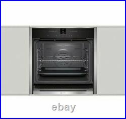 NEFF B47CR32N0B N70 Slide&Hide Built In 60cm A+ Electric Single Oven Stainless