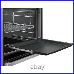 NEFF B47VS34H0B N90 Slide&Hide Built In 60cm A Electric Single Oven Stainless