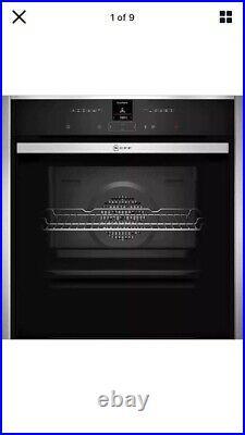 NEFF B57CR22N0B N70 Slide&Hide Built In 60cm A+ Electric Single Oven Brand New