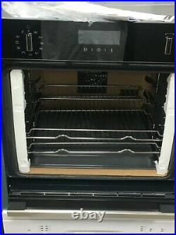 NEFF N50 B4ACM5HH0B 60cm Built-in Slide and Hide Self Cleaning Smart Single Oven