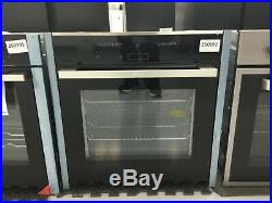 NEFF N70 B17CR32N1B Built In Electric Single Oven S/Steel A+ Rated #250192