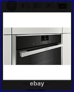 NEFF N90 B47CS34H0B Slide & Hide Built In Single Electric Oven, Wifi RRP £899